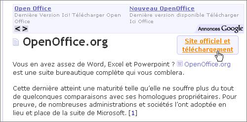 Lilapuce t l charger et installer openoffice - Open office derniere version ...